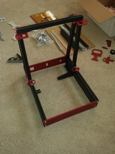 Assembled Base and Z-Axis Support
