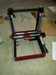 Assembled Base and Z-axis